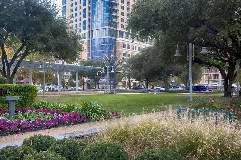 Market Square Park in Houston Texas photo