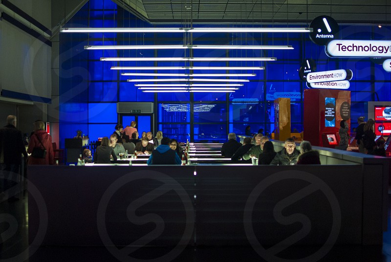 cafe at london science museum photo