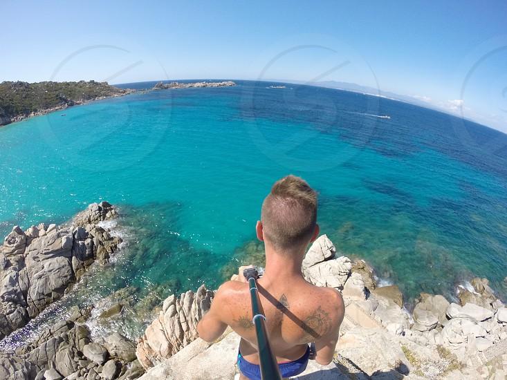 Sardegna Mare Sea Italy Rena Bianca Summer Estate Lifestyle Landscape photo