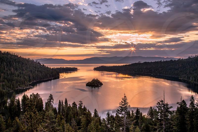 Sunrise at Emerald Bay photo
