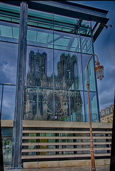 Cathedral Reflection photo