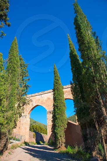 Portaceli Porta Coeli monastery in Valencia at Calderona Spain photo