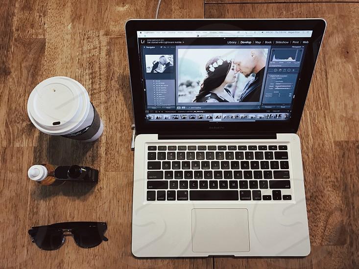 MacBook apple Starbucks editing  photo