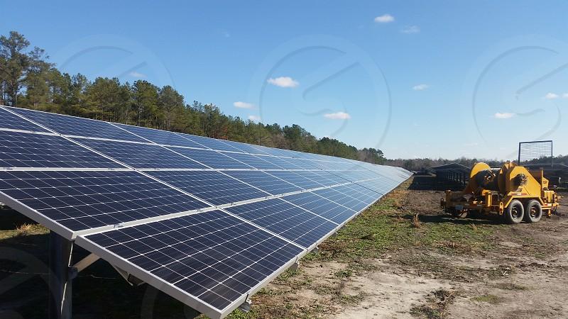 This is a solar farm in NC photo