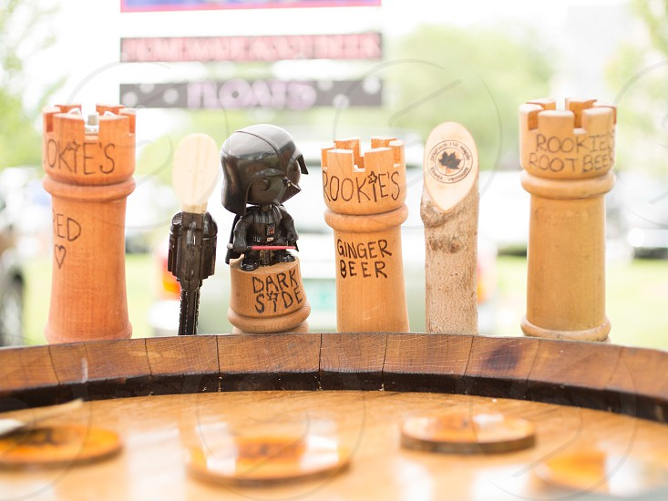 brown wooden chess pieces photo
