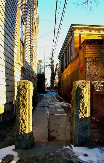 History Alley. photo