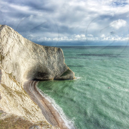 Landscape Alum Bay Isle of Wight  photo