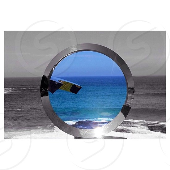 What lies beyond the horizon Sculptures beside the sea - Sydney photo