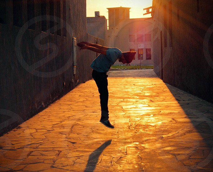 Candid jumping golden hour sunset sunlight cool capture awesome click adventure fun happy photo