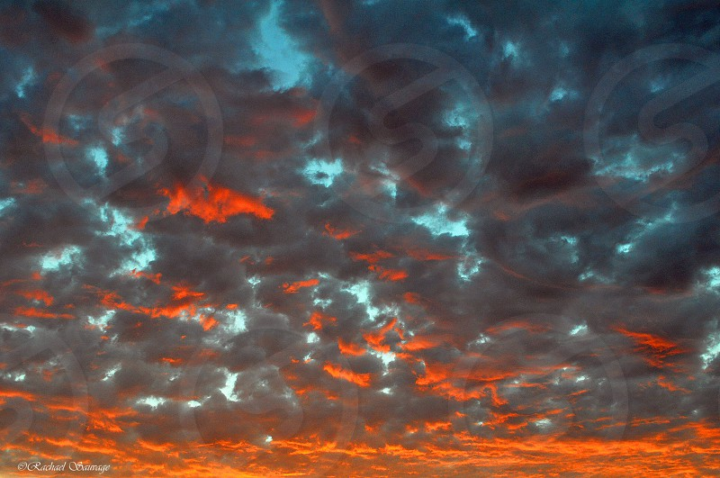 Clouds are alight  photo