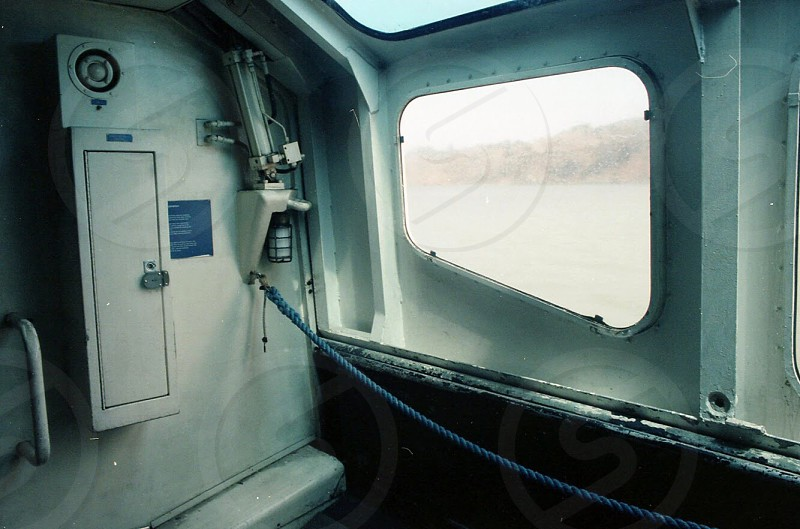 Bay Area ferry interior  photo