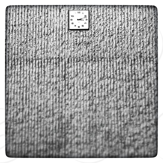 Clock time wall school university study  photo