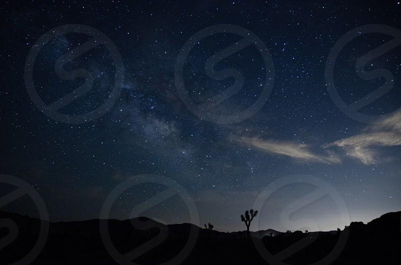 Photo By Jill Thornton Joshua Tree National Park Nightscape Stars Milky Way