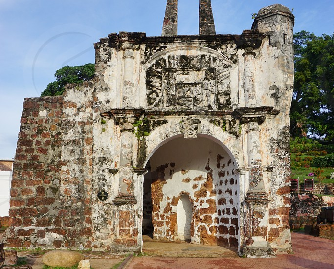 A Famosa fortress in Malacca City photo