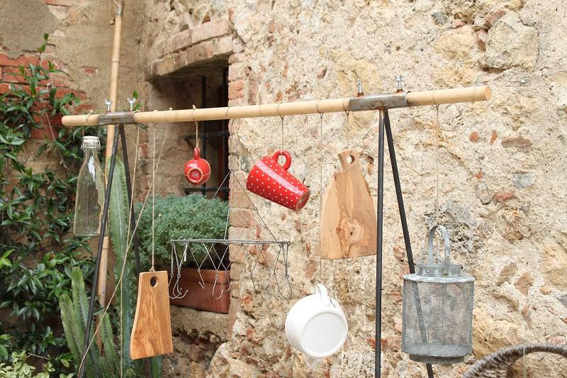 Street art in Tuscany photo