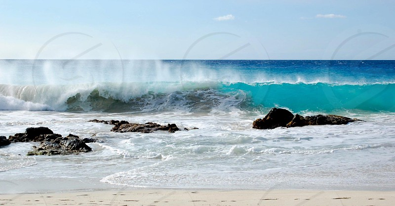 sea view photo photo