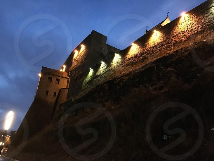 Narva castle in Estonia. photo