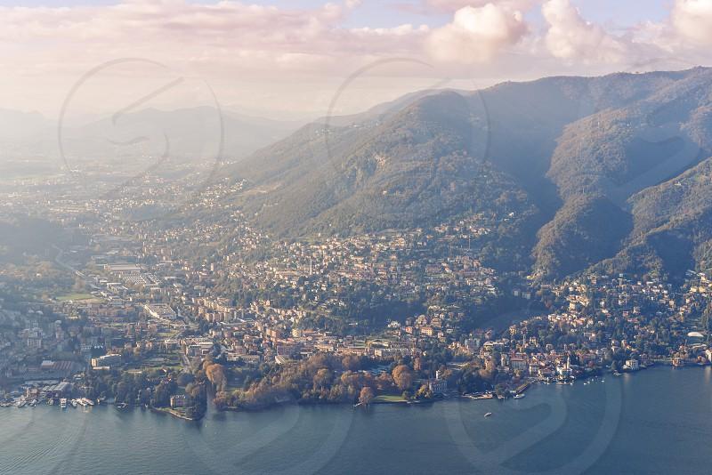 lake como italy northern italy milan tuscan europe romantic landscape town scenery photo