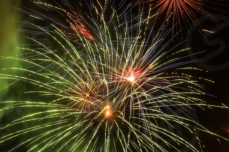 Fireworks show photo