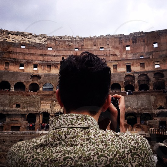 Rome colosseum holiday vacation summer photographer   photo