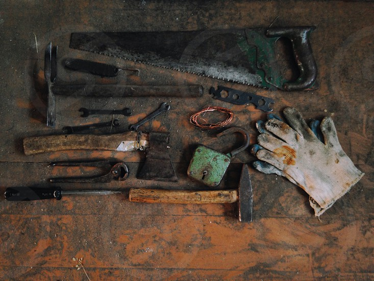 Tools For hard work photo
