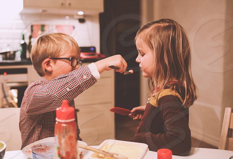 Check children child kids kid tests testing taste tastes tasty team teamwork siblings sibling baking kitchen give giving love loving girl boy cooking cook food foods foodie photo