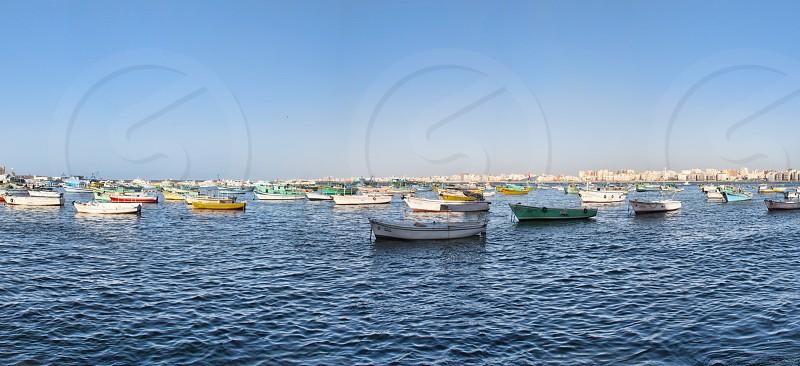 white boat photo