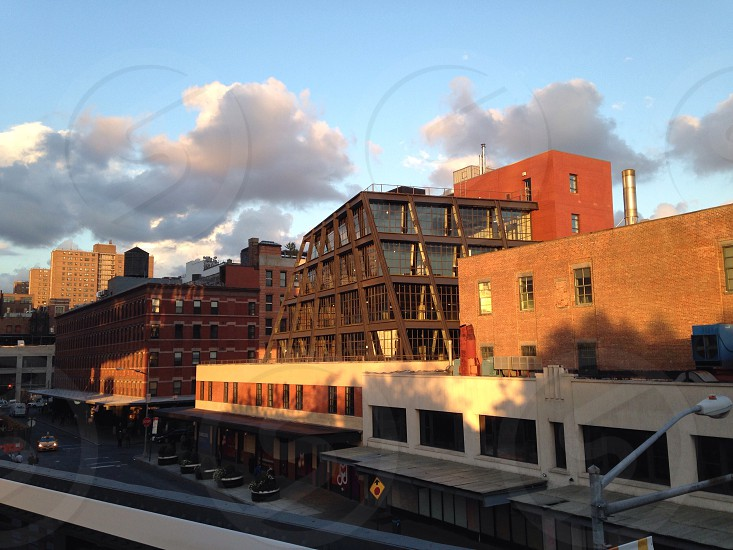 New York City View from the High Line photo