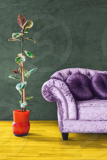 Living room furniture decor illustration photo