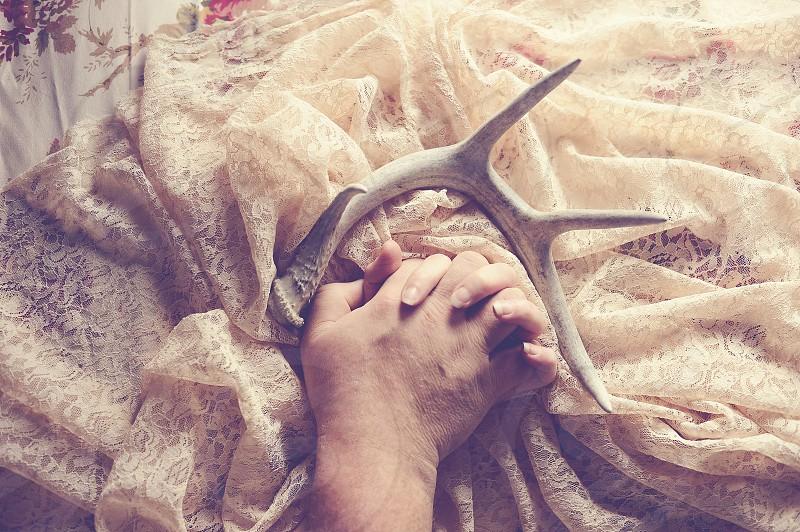 antlerslaceloveholding hands photo