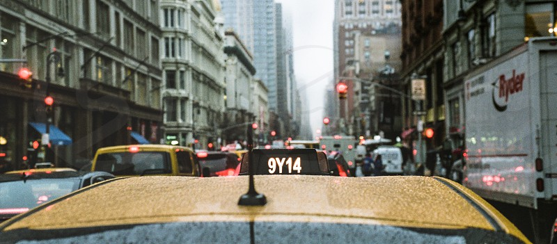 Nyc taxi traffic photo