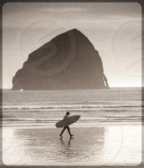 Surfer beach canon beach photo