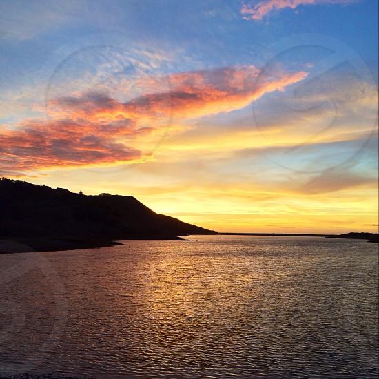 Sunset on the Headlands photo