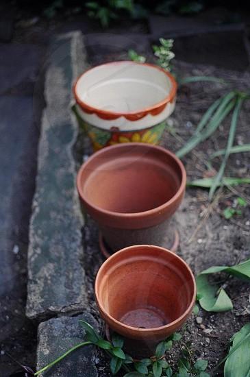 garden pots photo
