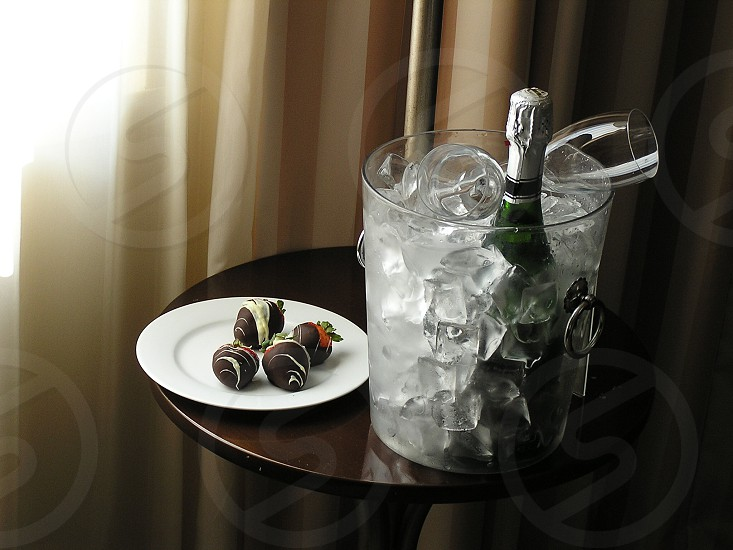 Romantic touch to a nice hotel stay. photo