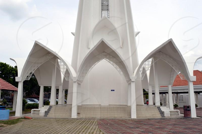 mosque in Selat Melaka photo