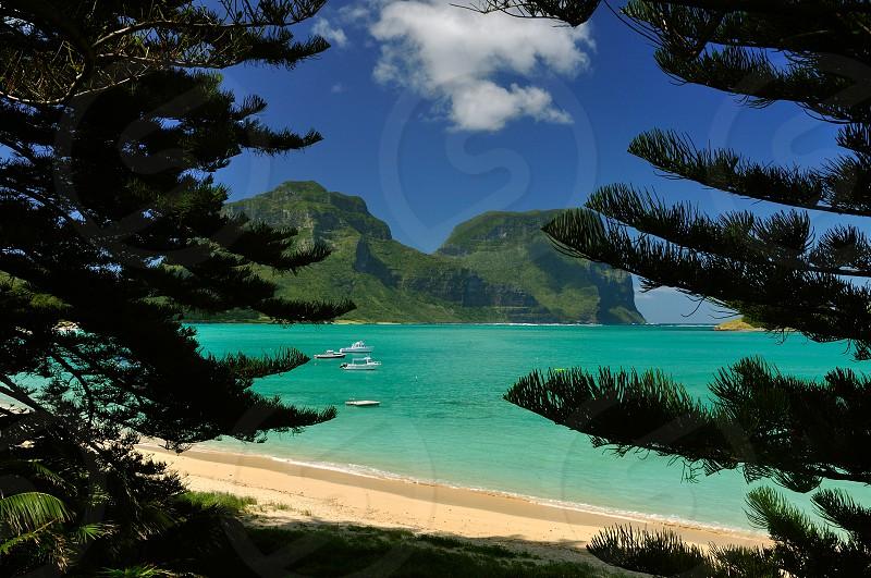 Lord Howe Island NSW Australia  photo