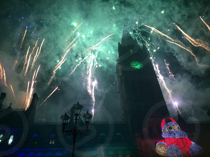 Manchester Christmas lights switch on 2014 photo