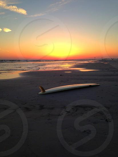 Surf Sunset photo