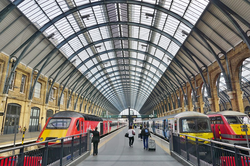 London King's Cross railway station - London England UK photo