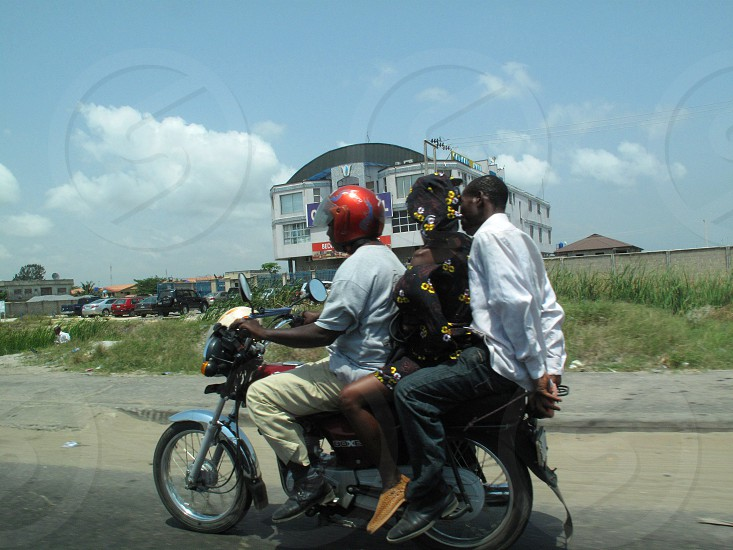Commuting in Lagos photo
