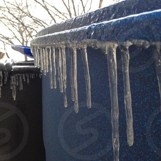 Freezing over. photo