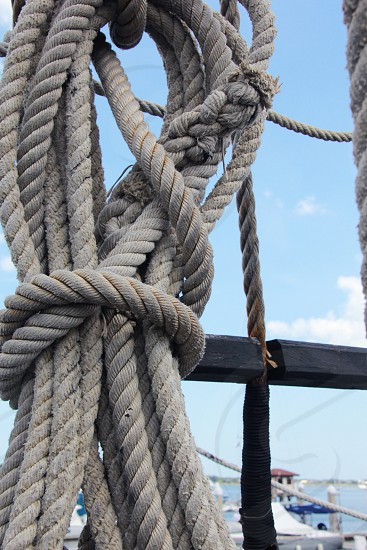 Nautical Rope Sailing Knot photo