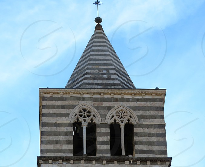 church campanile - Viterbo Italy photo