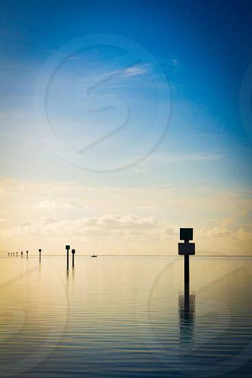 sea and sky photo  photo