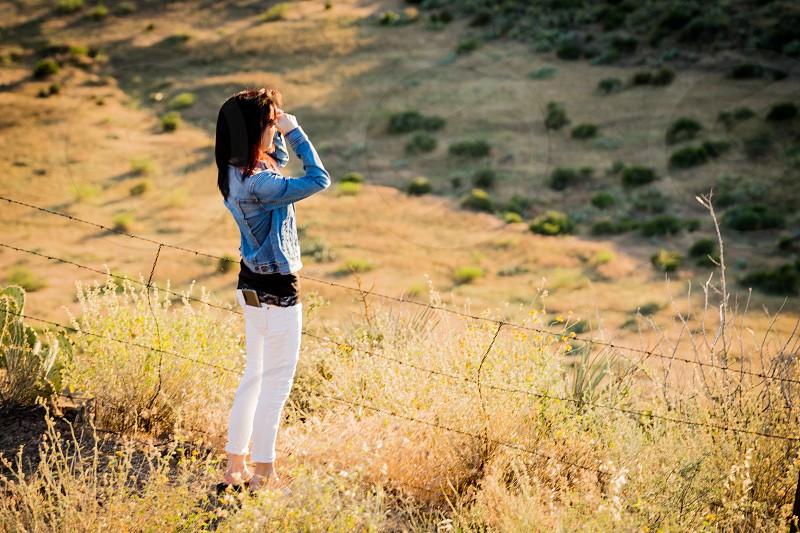 Sunset at Sunset Point Arizona photo