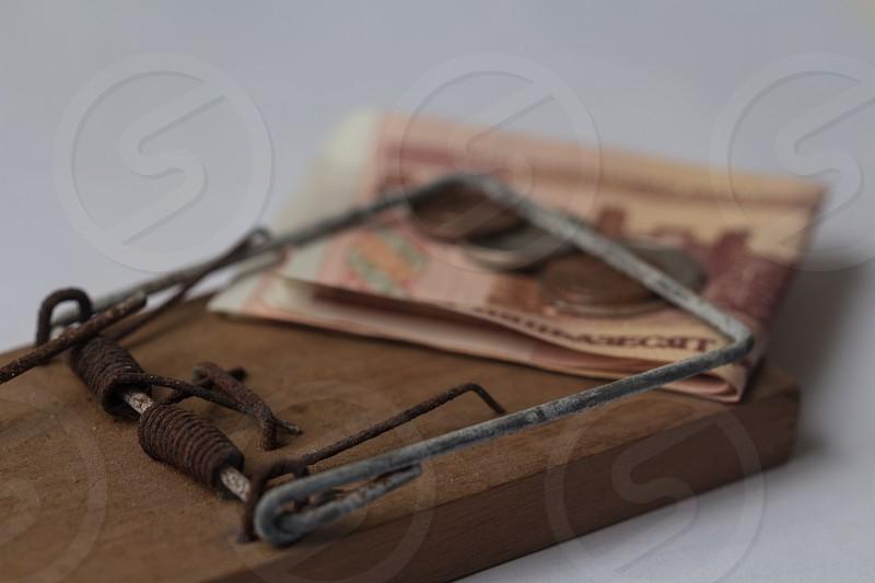 saving money trapped photo