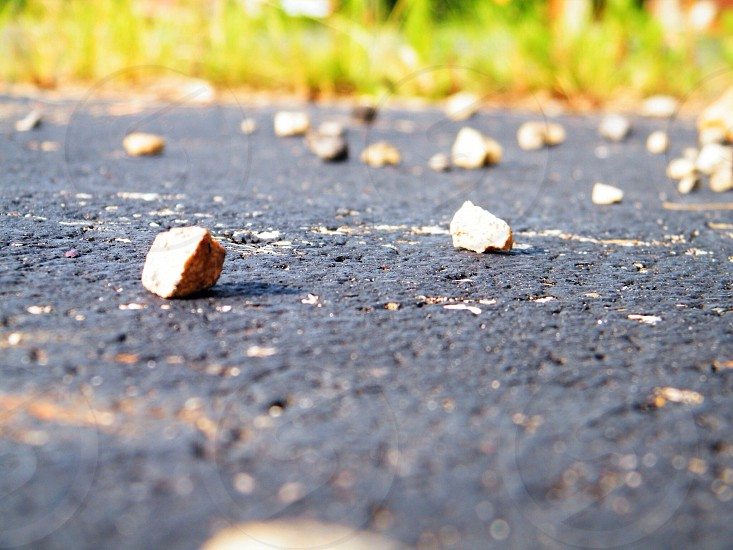 Small obstacles. photo