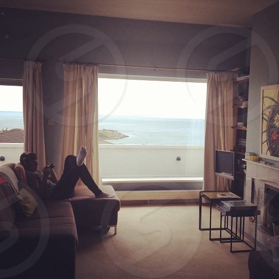 A beautiful view and a peaceful apartment photo