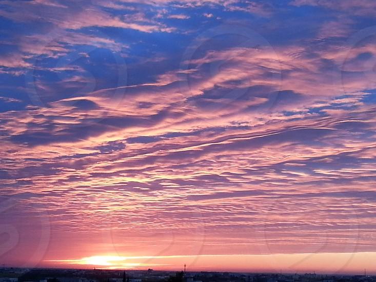 morning sky Sfax Tunisia photo